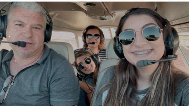 Veja os últimos momentos da família que morreu em queda de avião no PR;  VÍDEO